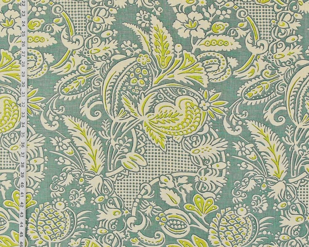 Asian motif fabric