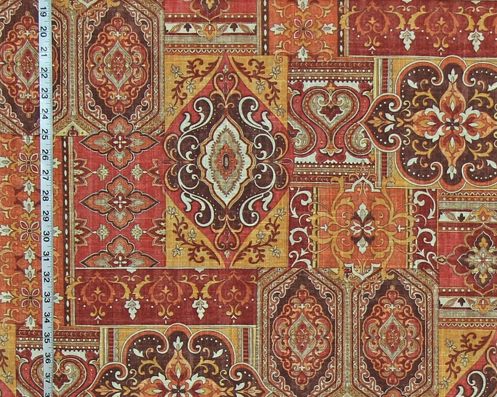 PATCHWORK RUG FABRIC