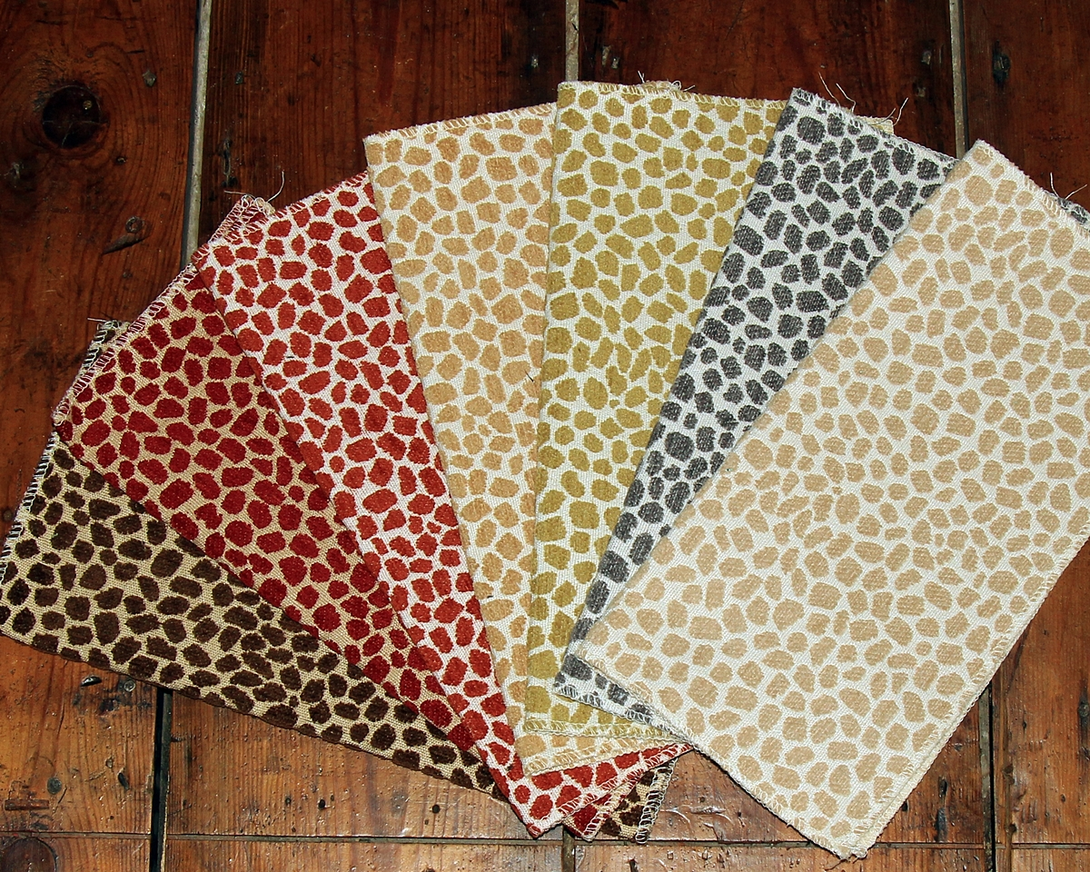 DOTTED ANIMAL SKIN FABRIC