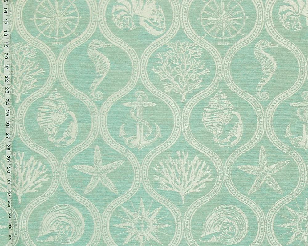 Seaglass Green Ocean Fabric