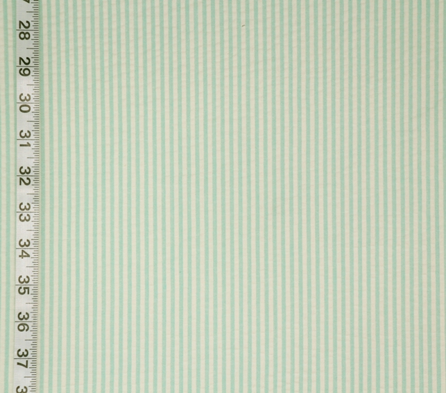 AQUA MINT SEERSUCKER FABRIC