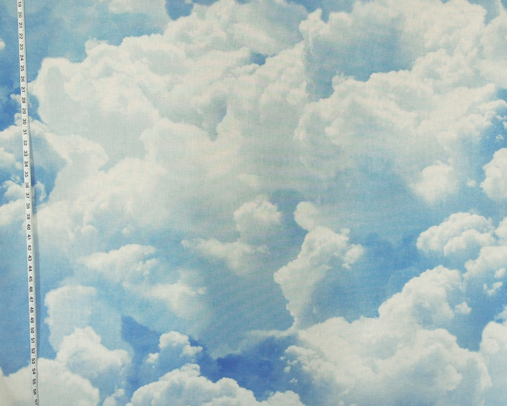 Sky Cloud Fabric