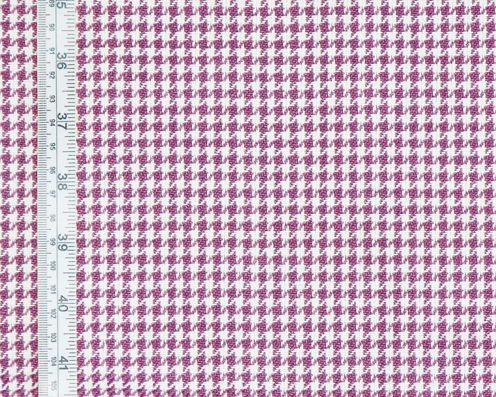 Purple Houndstooth Fabric
