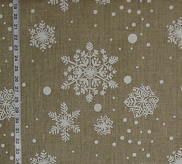 SNOW FLAKE FABRIC