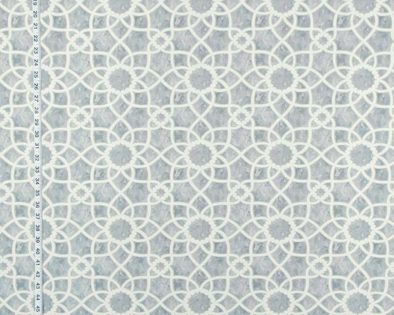 Grey lattice fabric