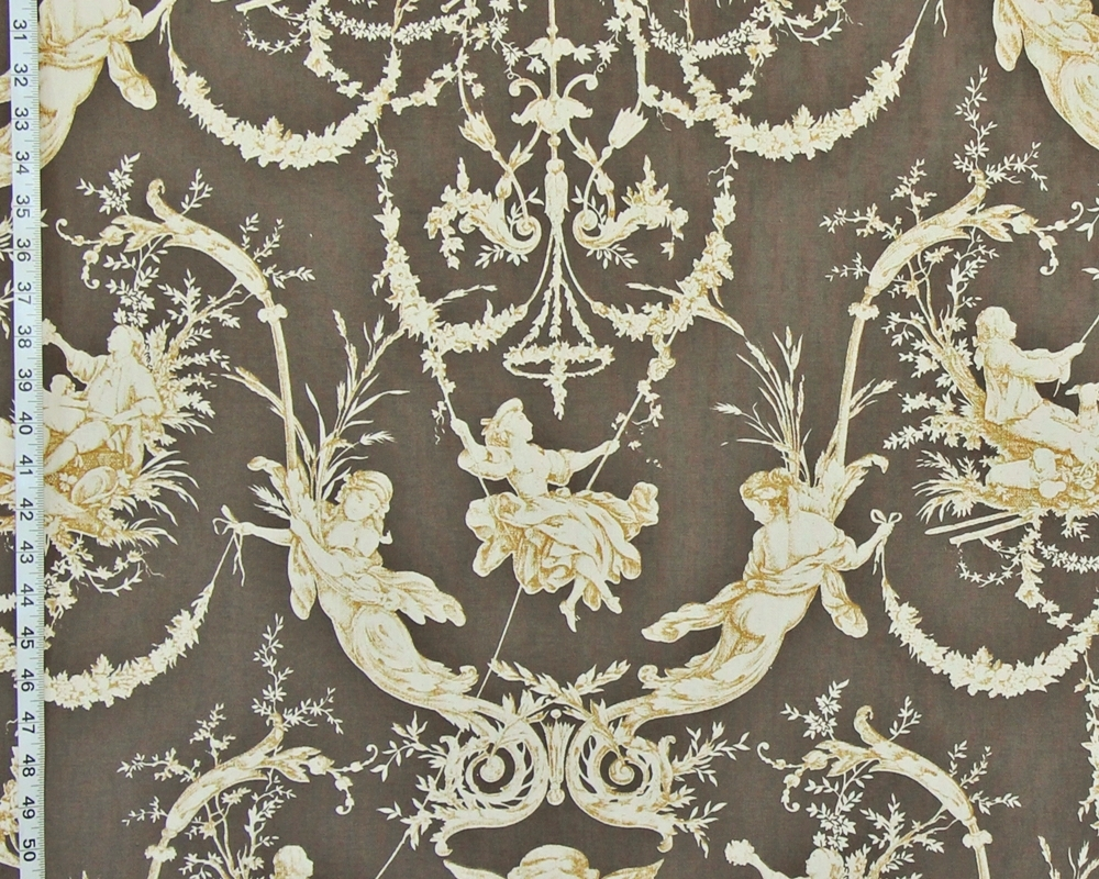 Toile fabric on sale july 8 through july 14 brickhouse for French toile fabric