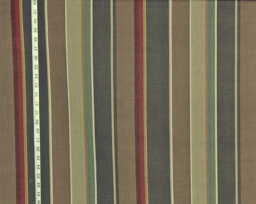 Striped Fabric grey brown neutral RT- Trad-post- D 2971