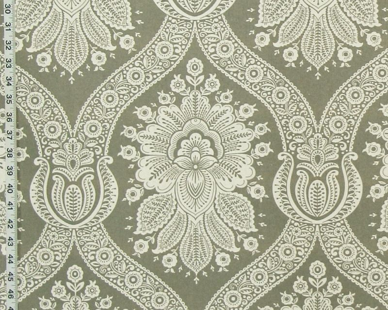 GREY WALLPAPER FABRIC