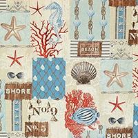 Coastal Living Style From Brick House Fabric Novelty Fabric