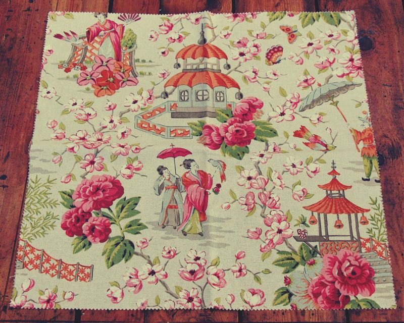 CHINOISERIE FABRIC SAMPLES