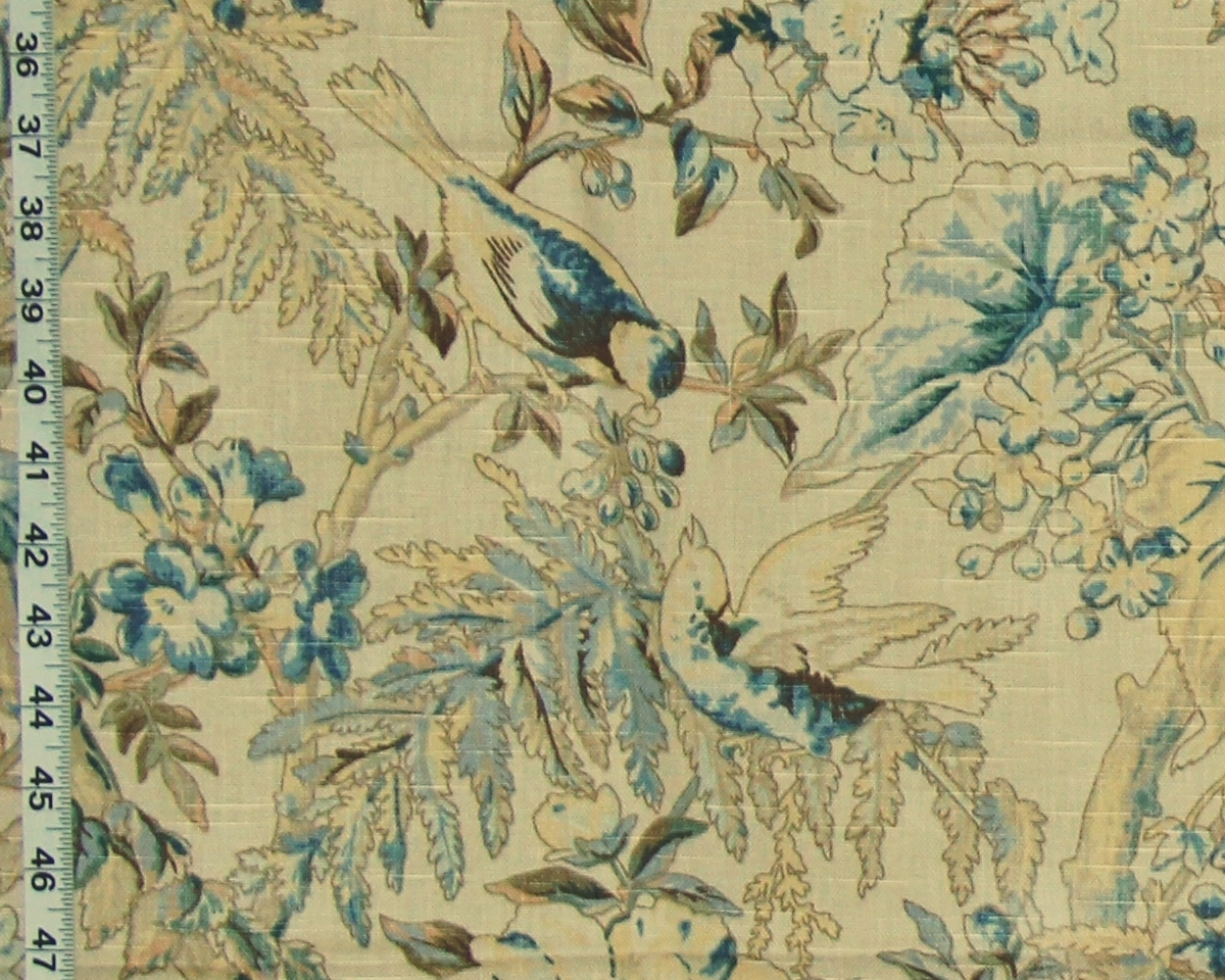 SCHUMACHER GREEFF WHITNEY BIRD FABRIC
