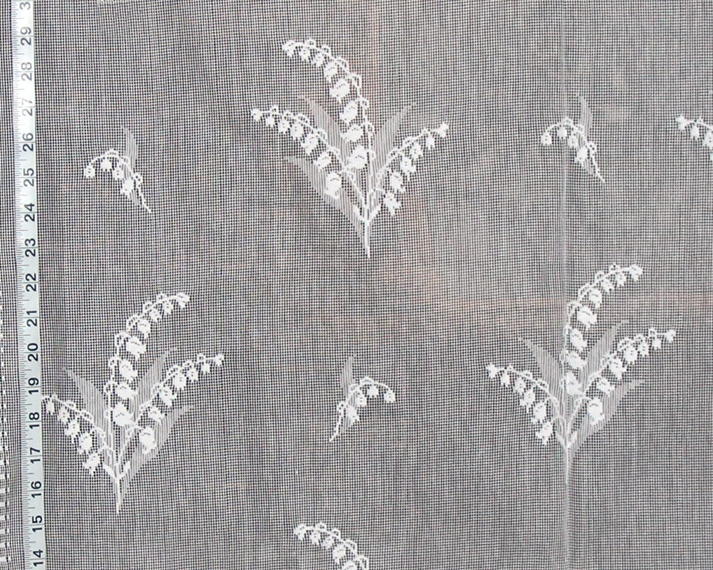 LILY OF THE VALLEY LACE FABRIC
