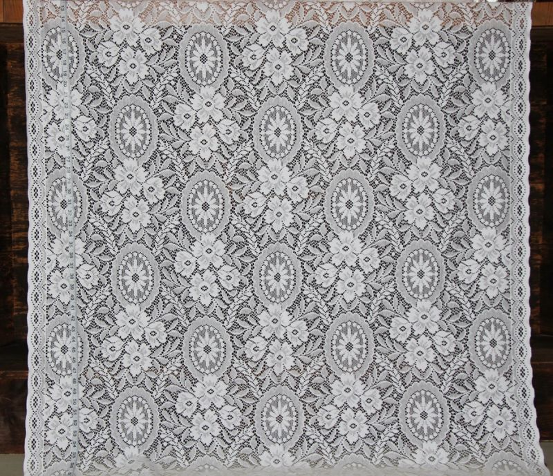 Nottingham Lace Curtain Fabric