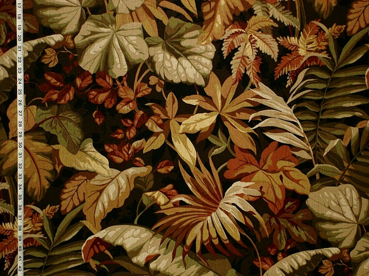 Schumacher Tropical Night Fabric
