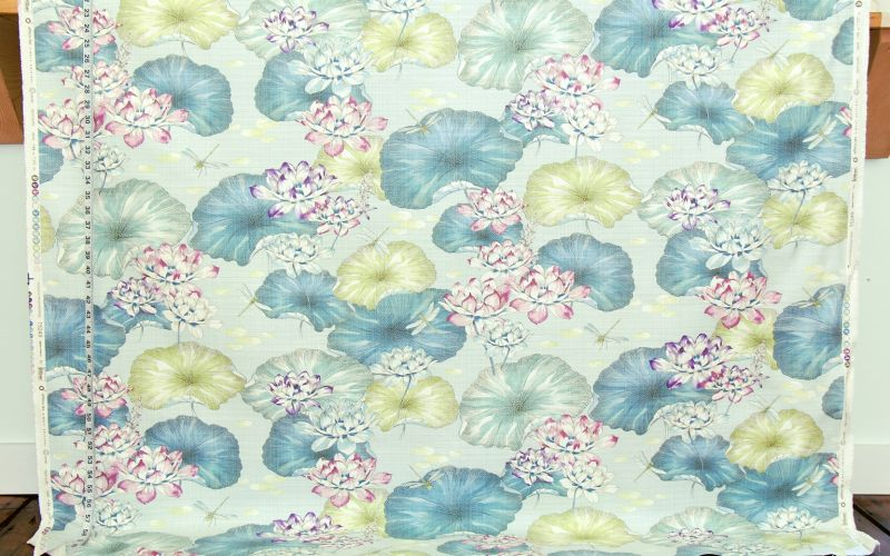 WATERLILY POND FABRIC