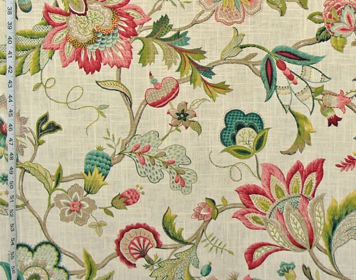 Indienne Fabrics Jacobean Fabrics 27 March 2015