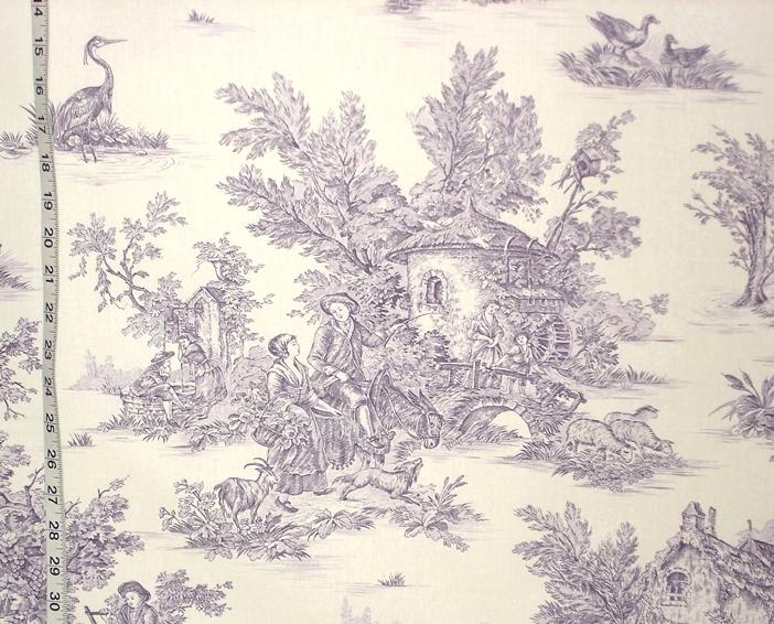 purple toile fabric  u2013 28 may 2014