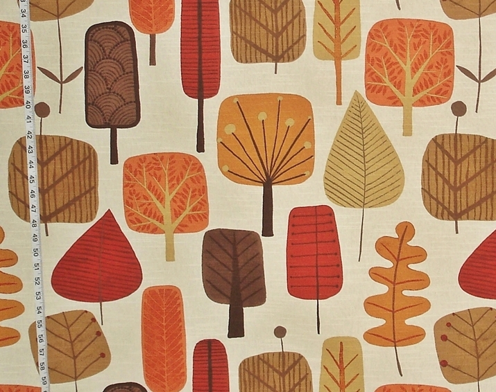 Scandinavian Tree Fabric