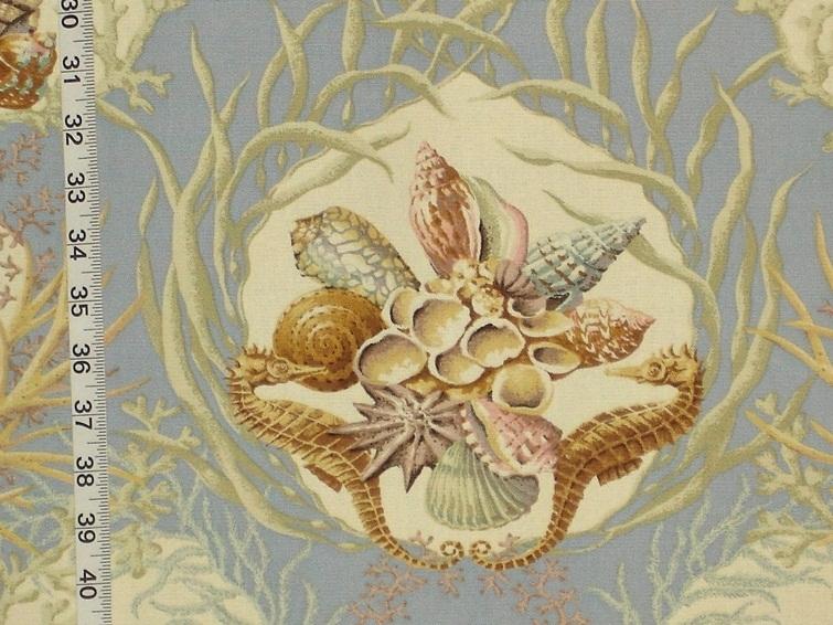 Seashell coral fabric- redux – 16 June 2014 | Brickhouse ...