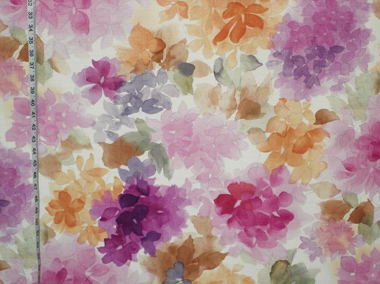 Keepsake Calico Cotton Fabric Aquarelle Purple Watercolor
