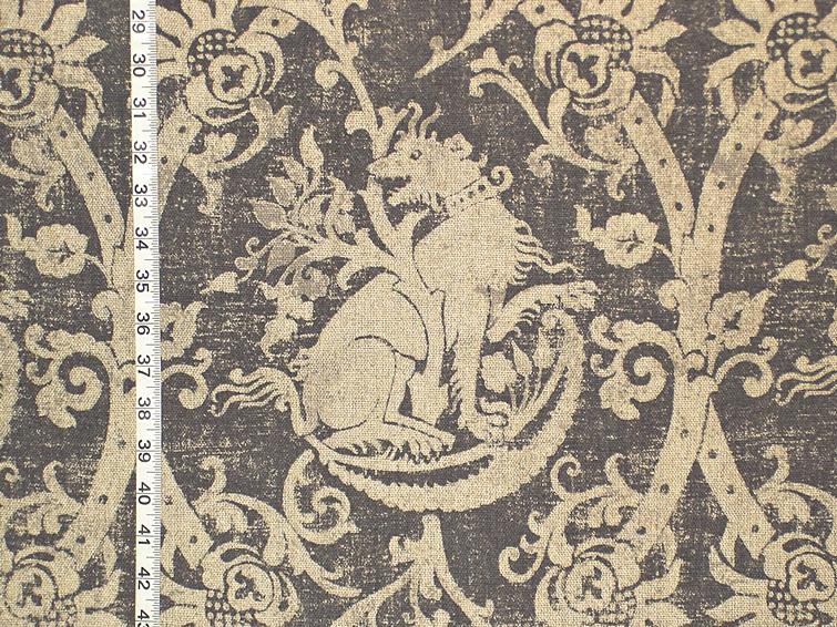Medieval Beast Fabric- Fabric of the Week! – 16 December 2013 | Brickhouse Fabrics