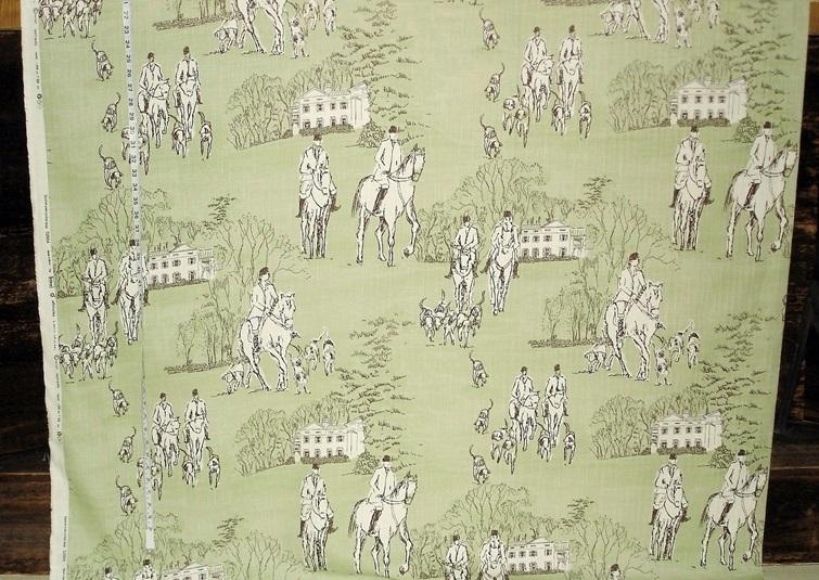equestrian horse fabric