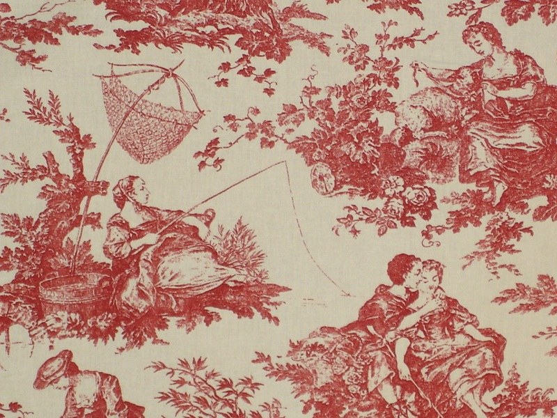 Laura Ashley French Toile Fabric