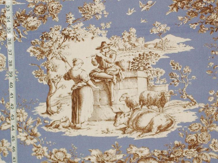 Week of march 27 2012 brickhouse fabrics - Toile de jouy decoration ...